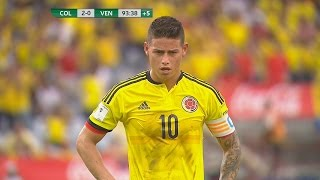 James Rodriguez vs Venezuela (H) - 16/17 HD 1080i by JamesR10™