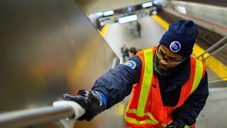 Kampf gegen Coronavirus: New Yorker U-Bahn wird desinfiziert