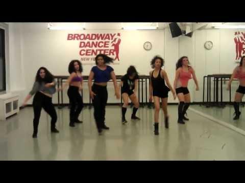 Debbie Wilson -  Commercial Jazz Class - Broadway Dance Center - Bubble Pop