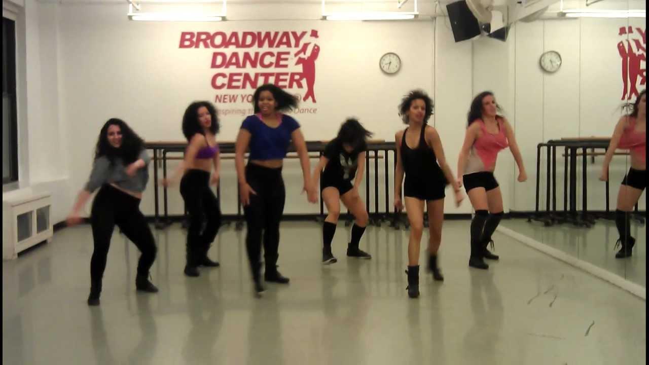 debbie wilson - commercial jazz class - broadway dance center
