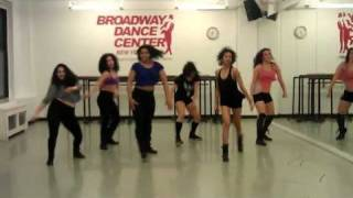 Debbie Wilson -  Commercial Jazz Class - Broadway Dance Center - Bubble Pop
