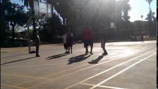 Playing Basketball at Lafayette