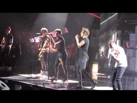 Rock Me LIVE - One Direction 6-19-13 Nashville, TN
