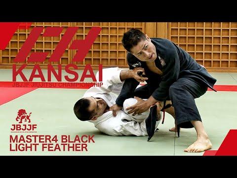 【JBJJF関西柔術選手権2021】マスター4黒帯ライトフェザー級