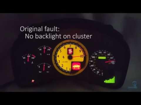 Ferrari F430 Instrument Cluster Speedometer Repair