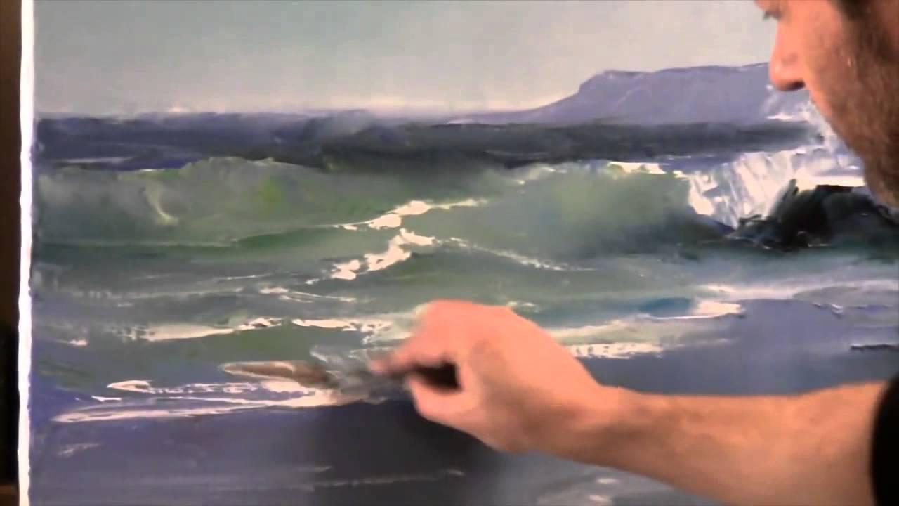 Extraordinaire Igor Sakharov. La technique unique de peinture. surf Nouvelle Bob @WE_87