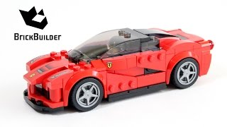Lego Speed Champions 75899 LaFerrari- Lego Speed build