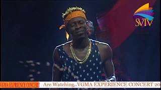 Shatta Wale Calls For Unity Among Stonebwoy, Samini, Sarkodie At VGMA Experience Concert 2019