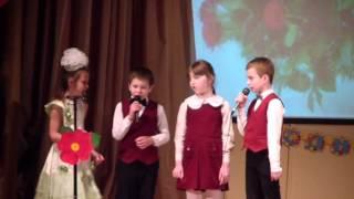 6 марта  Гимназия 1504 Праздничный концерт. посвященный мамам