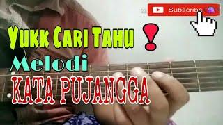tutorial melodi tengah lagu KATA PUJANGGA RHOMA IRAMA termudah    Melody Gitar Channel   