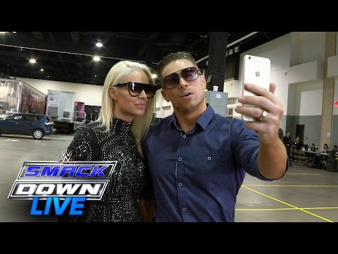 The Miz & Maryse Facebook Live as they arrive for the WWE Draft: July 19, 2016