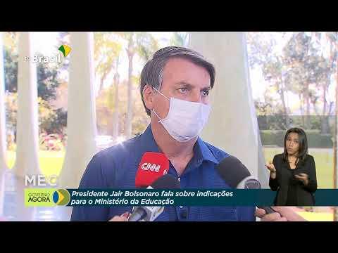 Entrevista com o presidente Jair Bolsonaro
