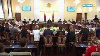 Александр Лукашенко посетил Гродно