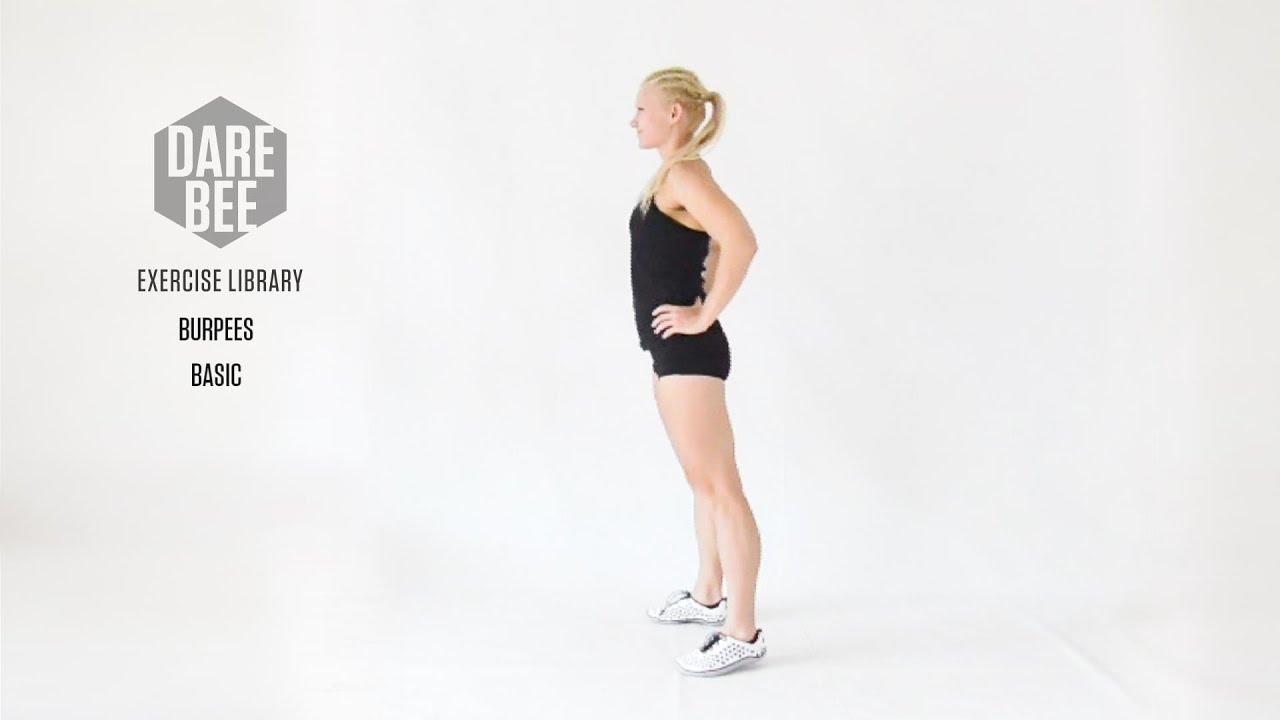 Видео - базовый вариант Бёрпи