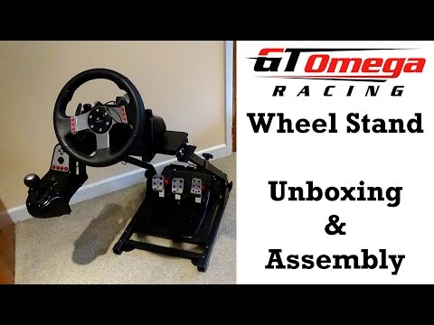 GT Omega Wheel Stand Unboxing & Assembly (Also A Stand Test With The Logitech G27)