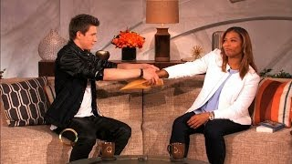 Queen latifah gets her mind read by collins key :: the queen latifah show