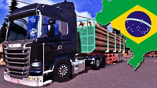 Estilo Brasileiro - Euro Truck Simulator 2