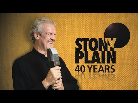 40 Years of Stony Plain Records: Making a career in roots and blues music