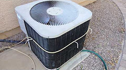 Misting HVAC air conditioner coils or NOT, my personal finding