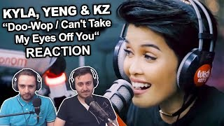 """""""Kyla, Yeng and KZ cover Doo-Wop / Can't Take My Eyes Off You"""" Singers Reaction"""