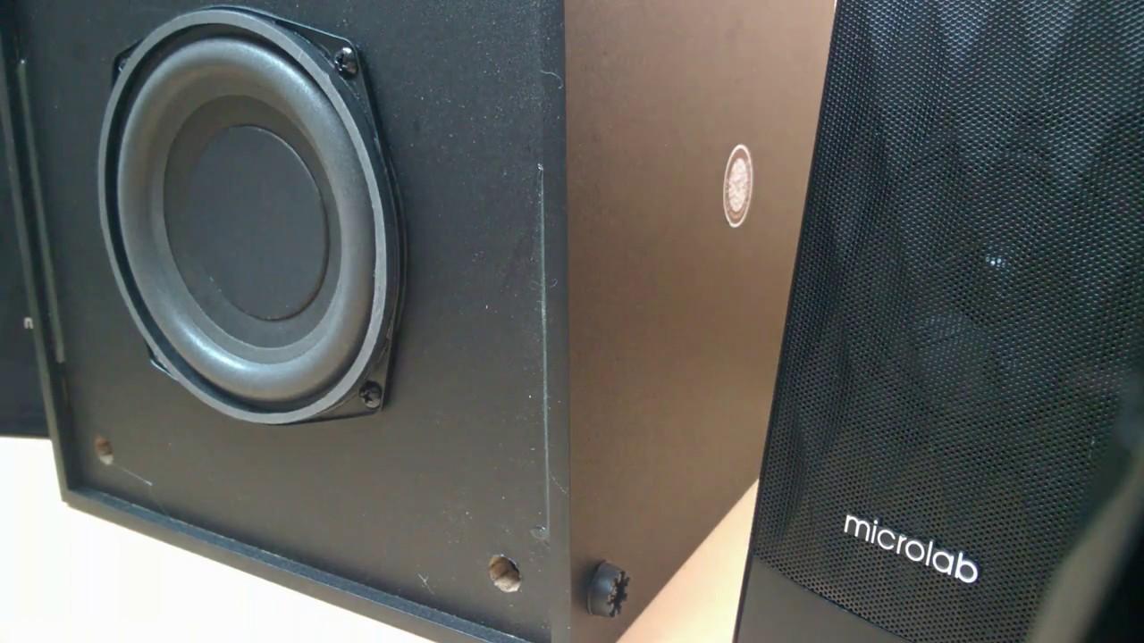 Microlab M-300 - Sound Test