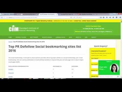 Social Bookmarking - How To Do Social Bookmarking - Off-Page SEO