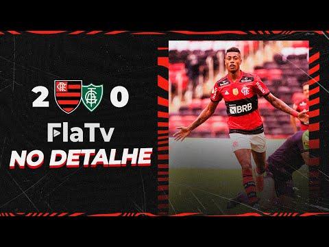 Programa No Detalhe: melhores momentos Flamengo 2 x 0 América-MG