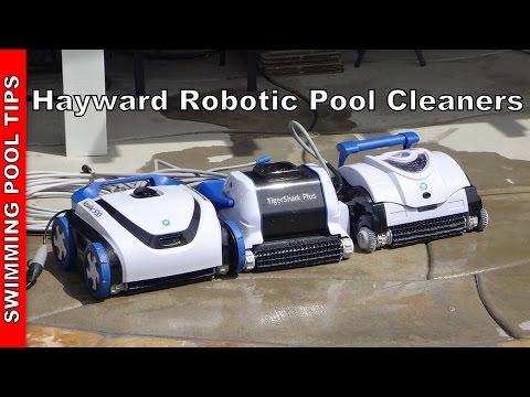 Hayward Robotic Pool Cleaners: TigerShark® Series, AquaVac® 500 & SharkVac Series