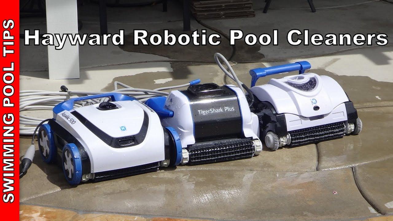 Hayward Robotic Pool Cleaners Tigershark 174 Series Aquavac