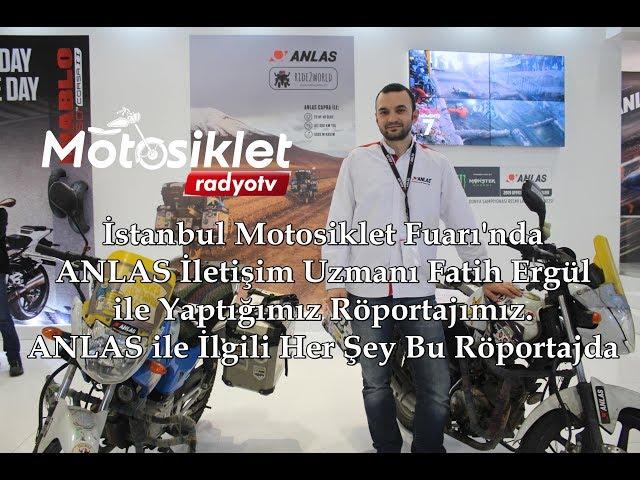 İstanbul Motosiklet Fuarı 2019 ANLAS Röportajı