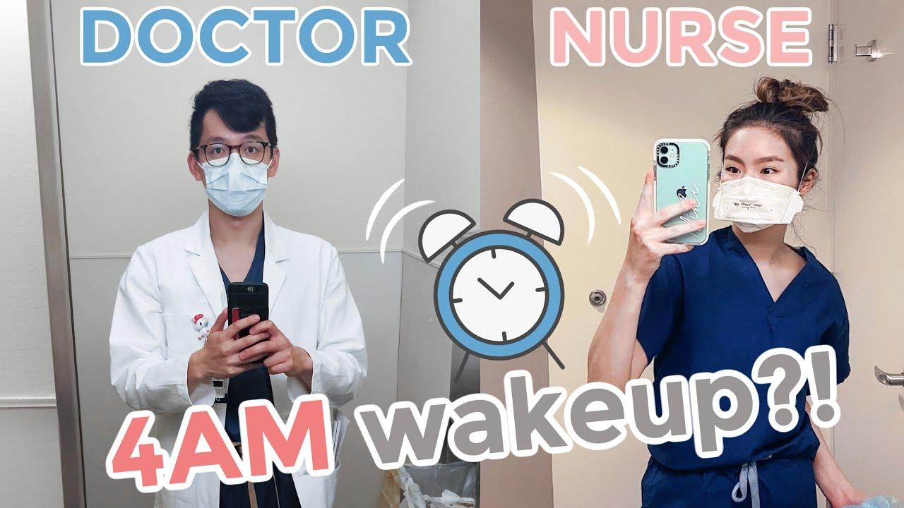 DOCTOR + NURSE | First week of work vlog