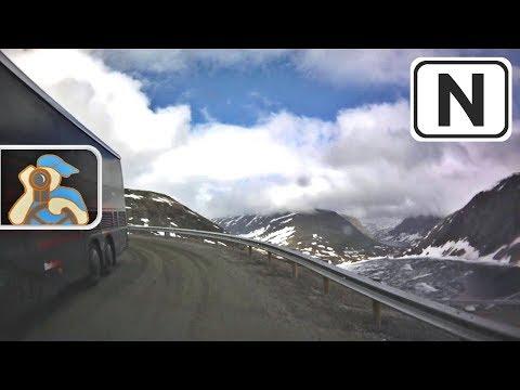 Norge. Rv15, Rv63. Grasdalstunnelen - Dalsnibba - Geiranger