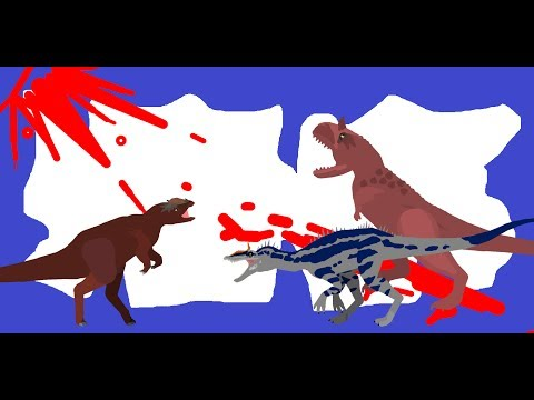 Pachycephalosaurus Vs Cryolophosaurus Vs Carnotaurus