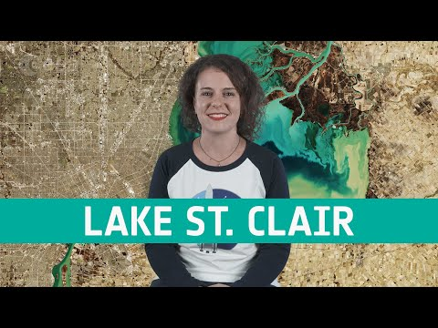 Earth from Space: Lake St. Clair