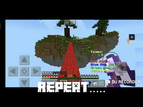 Minecraft PE AMV:Mob War- Legendary by skillet (without intro and outro)
