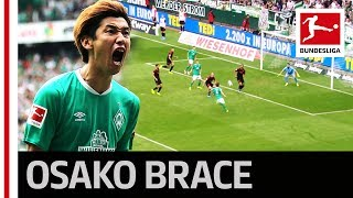 Yuya Osako's Perfect Match - 2 Goals and Match-winner