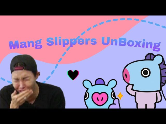 BT21 Mang Slippers Review/Unboxing!| Iffy Linny|