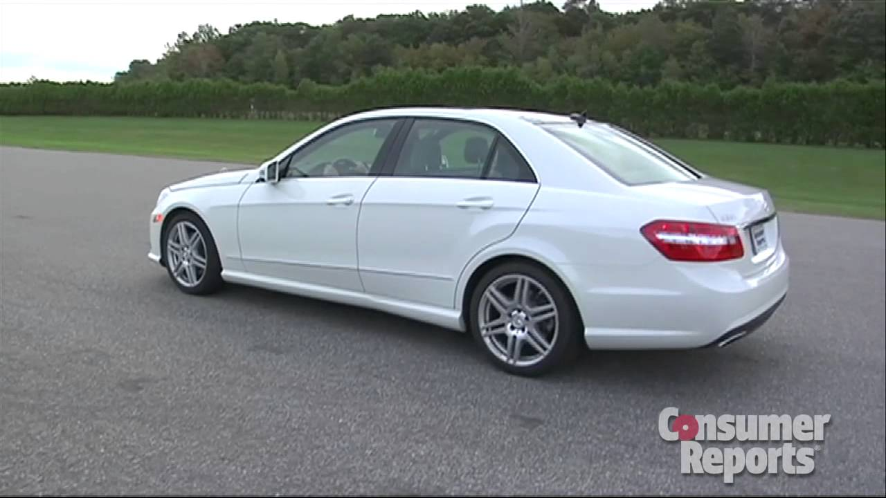 2010 2011 mercedes benz e class review consumer reports youtube. Black Bedroom Furniture Sets. Home Design Ideas