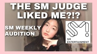THE SM JUDGE LIKED ME?!? - SM Weekly Audition Experience + kpop audition tips and advice