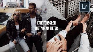 ERIK FORSGREN Instagram Filter Mobile Tutorial (@erik.forsgren)