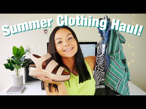 Summer Try On Haul 2019! Cute Summer Basics ♡ Kaylanxo