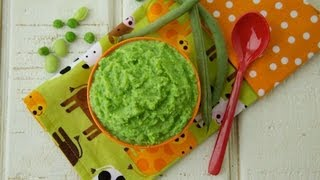 Baby Bullet Recipes: Green Beans Puree - Weelicious