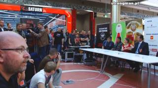 MMA FIGHTERS ARENA ŁÓDŹ  - Oficjalna ceremonia ważenia