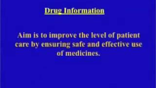 Drug Information Orientation Presentation-part 1
