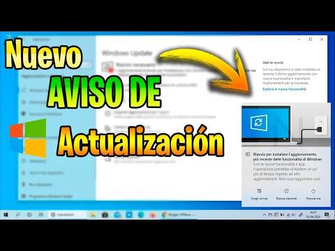 Nuevo AVISO De ACTUALIZACION En Windows 10 / Master News