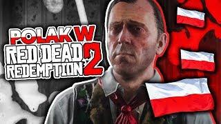 POLAK W RED DEAD REDEMPTION 2!   CIEKAWOSTKI   GAMEPLAY PL   SHOT