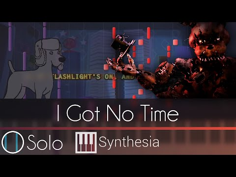 Solo piano tutorial w lyrics the living tombstone synthesia hd