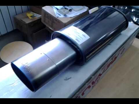 Обзор на Глушитель REMUS Titanium плоская насадка
