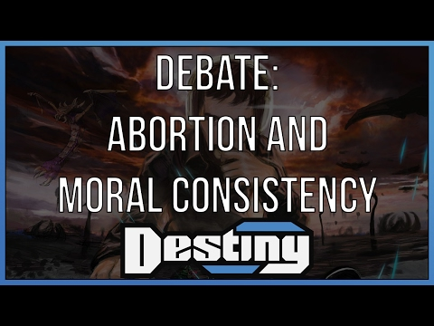 Debate: abortion and moral consistency