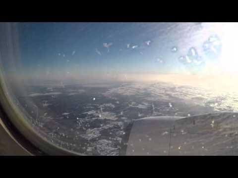 Ryanair Riga landing RWY 18